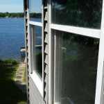 Residential Window Cleaning on a Lakefront Home